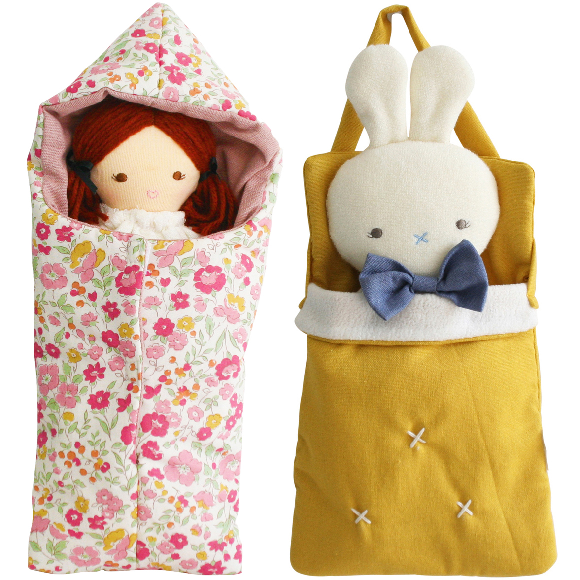 Asleep Awake Dolls & Carriers