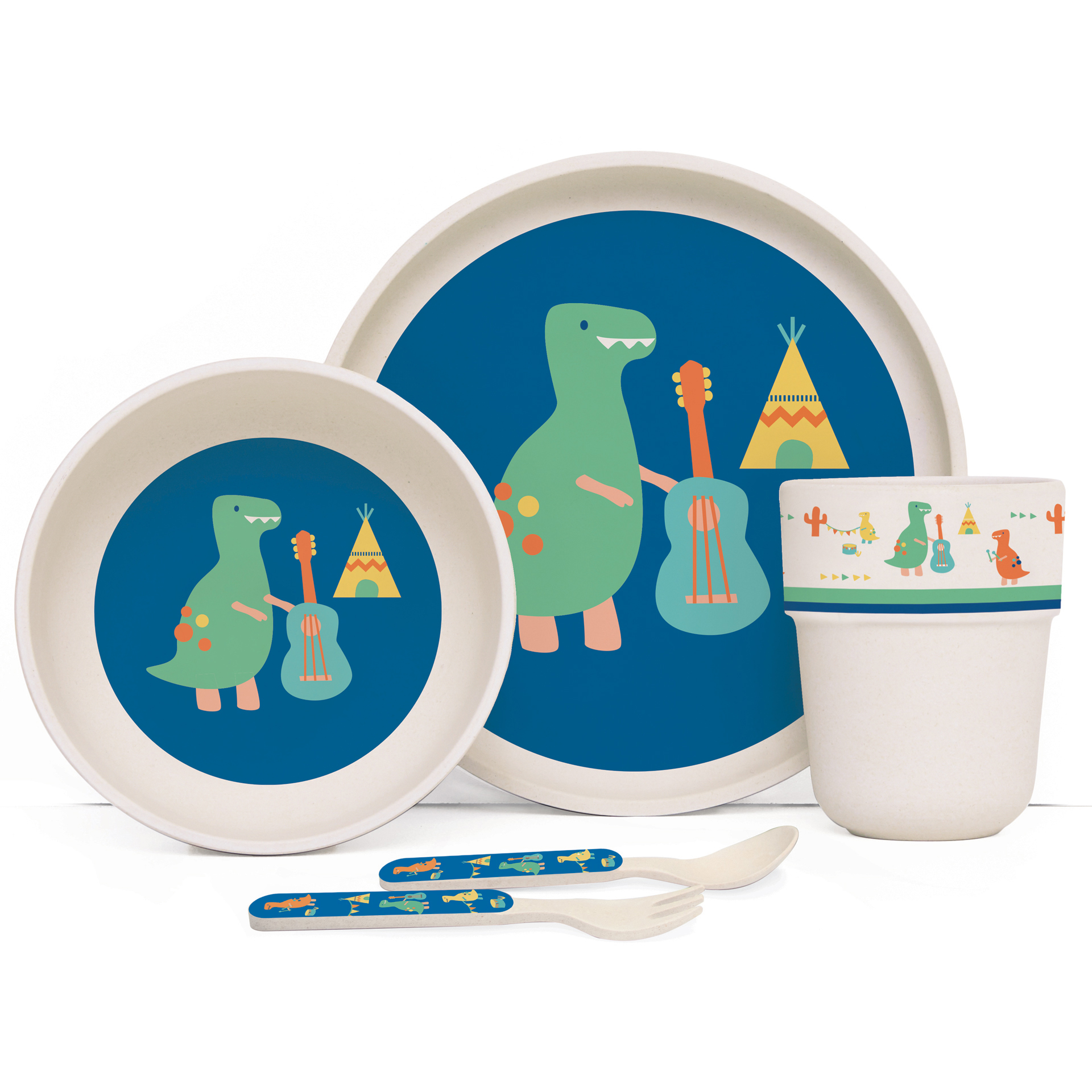 Bamboo Mealtime Sets