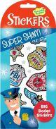Big Badge Shiny Foil Stickers